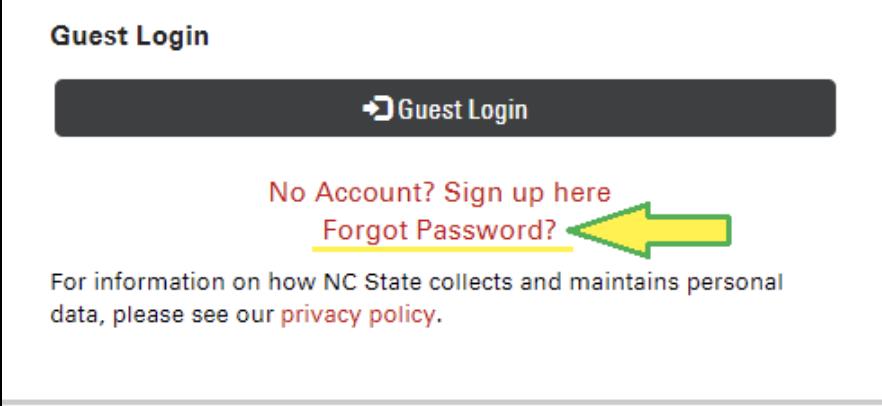 Guest Password Reset – REPORTER Support